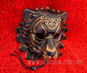 Regal Lion Mask