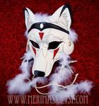 Mononoke Wolf Mask 1