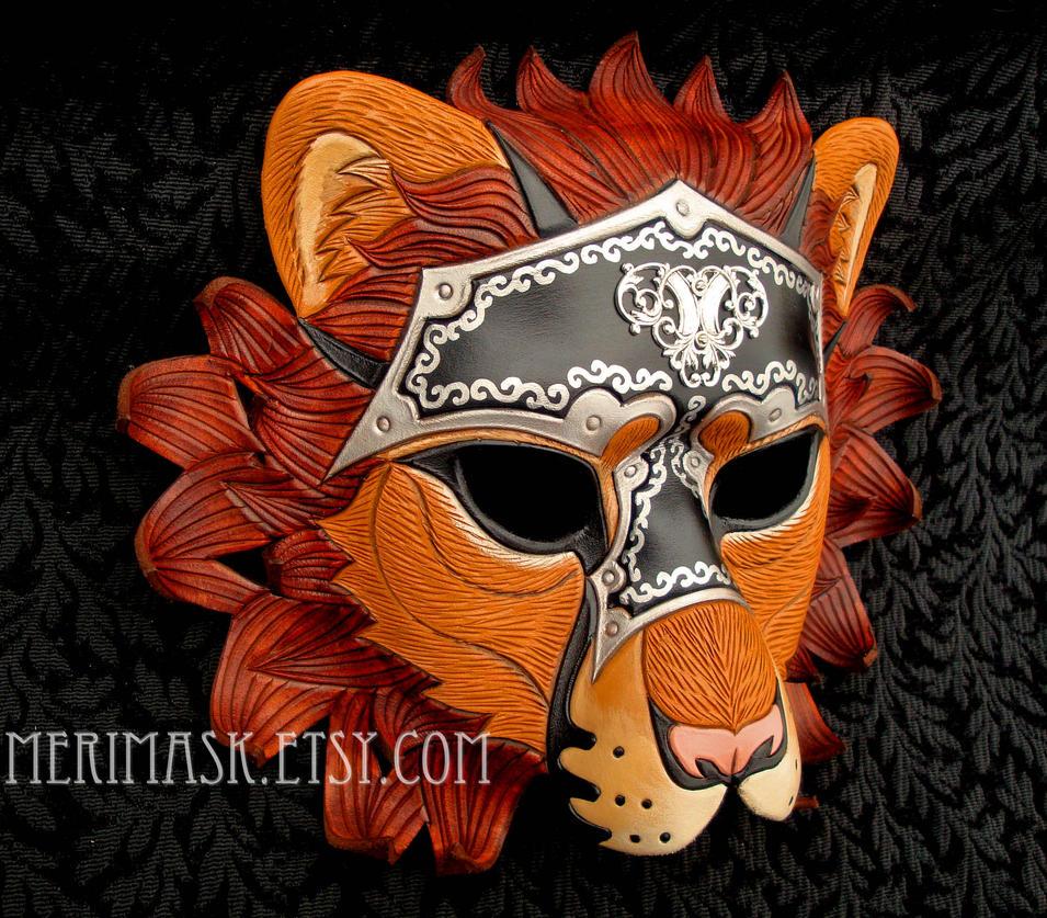 Custom Armored Lion #1 by merimask