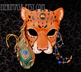 Peacock Leopard Mask #1