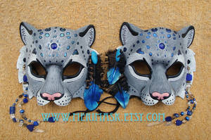Mountain Spirit: Snow Leopard Masks