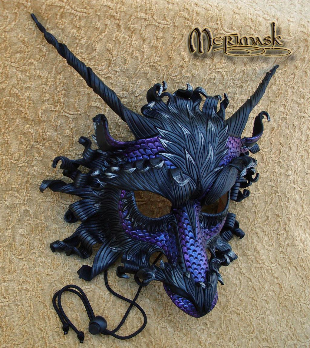 Custom Purple Great Dragon by merimask
