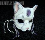 Amethyst Moonstone Cat #2