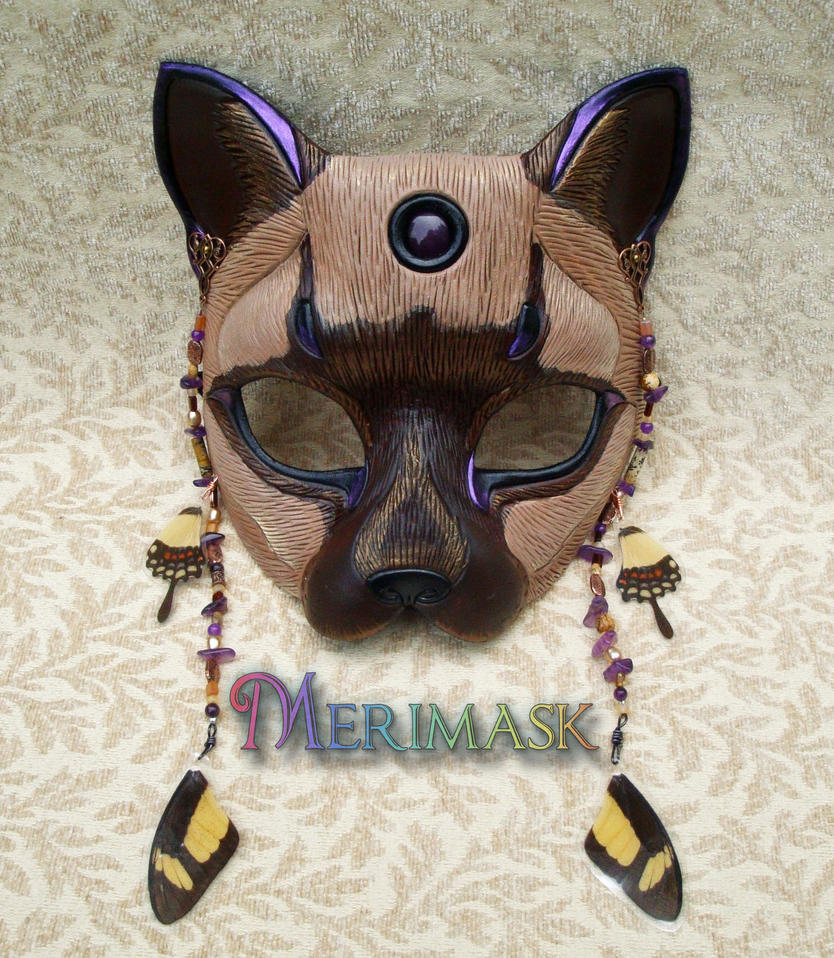 Fairy Cat Mask 1 by merimask