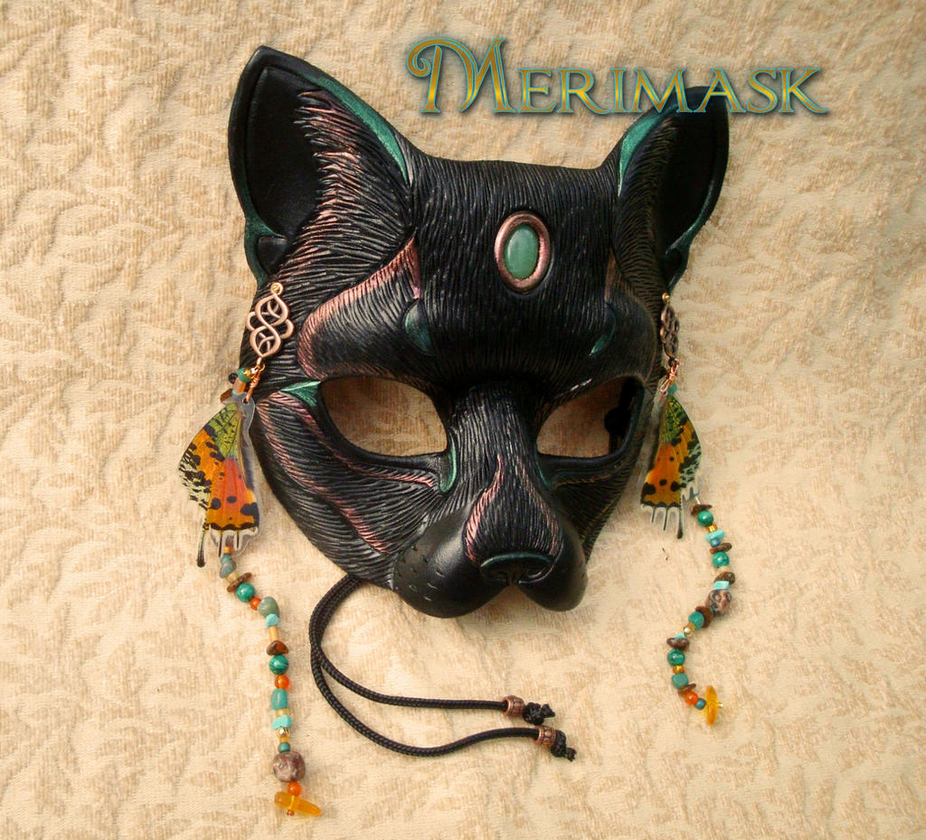 Fairy Cat Mask #2 by merimask