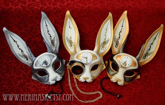 Clockwork Hare Masks