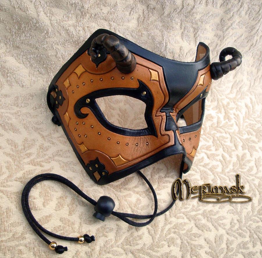 Ornate Beast Mask #1 by merimask