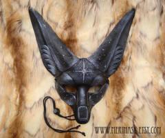 Starlight Fennec Fox Mask by merimask
