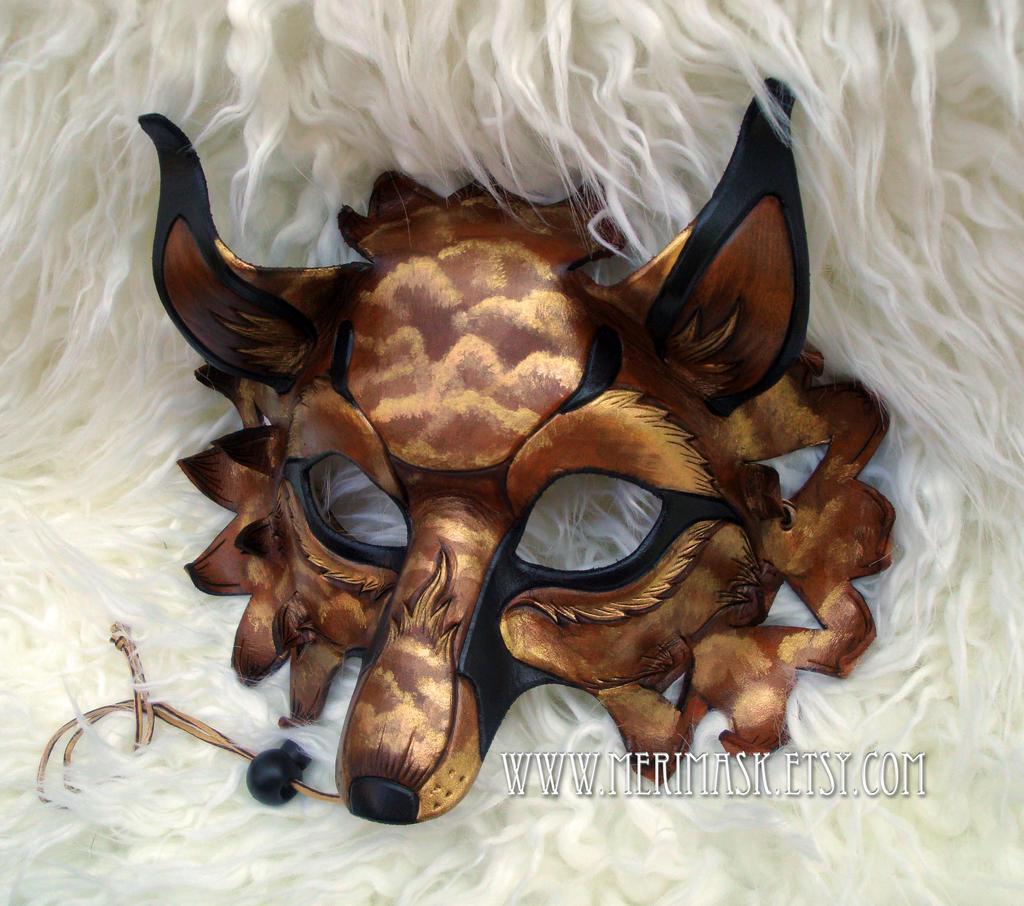 Amber Cloud Fantasy Fox #1 by merimask