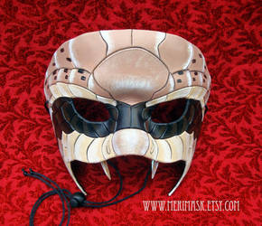 Rattlesnake Leather Mask 1 by merimask