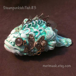 Steampunkish Fish #3 by merimask