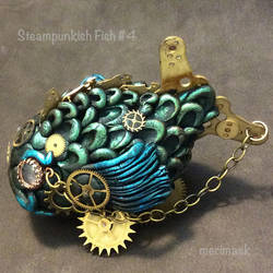 Steampunkish Fish 4 by merimask