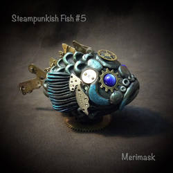 Steampunkish Fish #5 by merimask