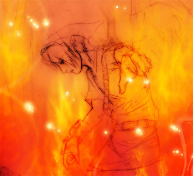 LEGEND OF ZELDA:  DINS FIRE+ by unholyxangel
