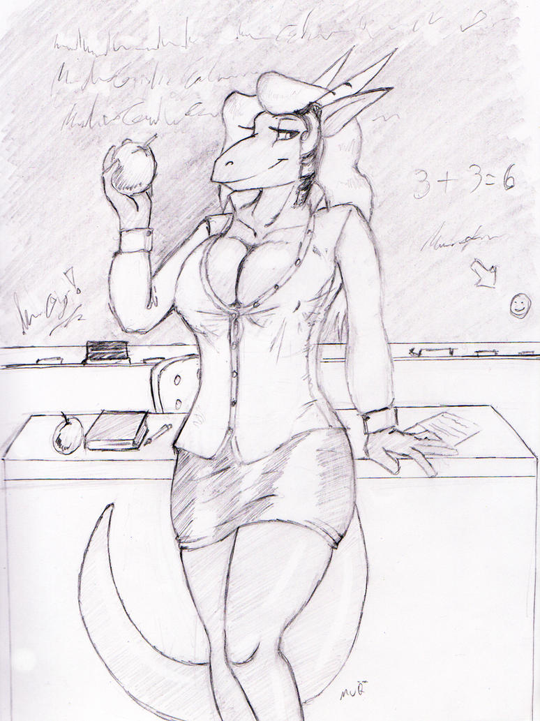 Dulcine as teacher by MuQ