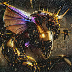 'Gold Dragon's gonna tell me where the light is'