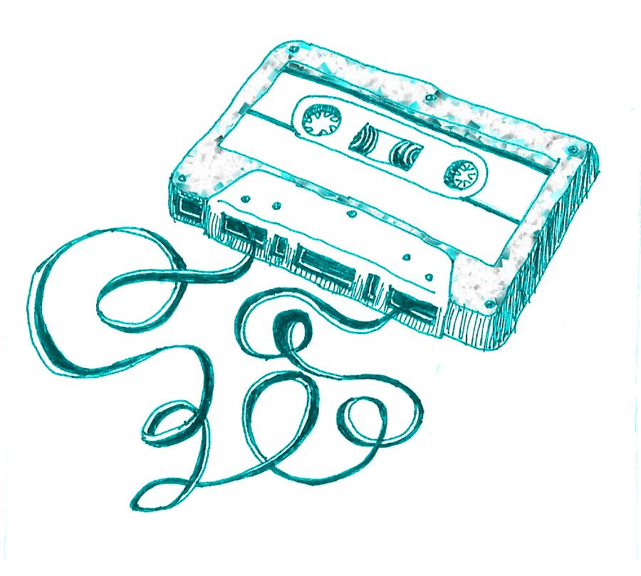 Cassette tape by mallorylucas on DeviantArt