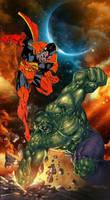 Gladiator vs Hulk