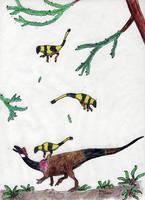 All Yesterdays #1: Heterodontosaurus hunting by ornithischophilia