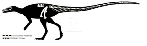 Leaellynasaura amicagraphica skeletal restoration