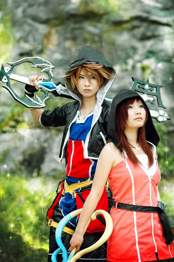 Kingdom Hearts :Sora n Kairi by studioK2 on DeviantArt
