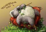The un-underlooked-after koala bear