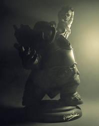 Immortan Orc figurine