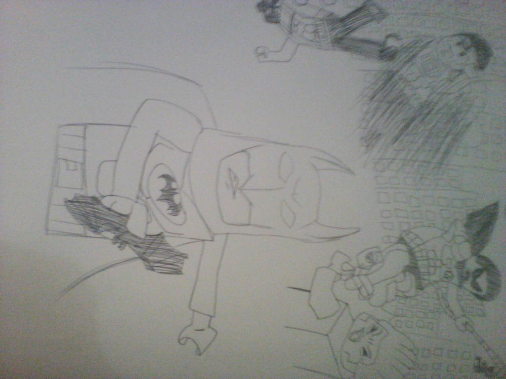 Lego Batman 2 Sketch By Enderponyayxx On DeviantArt