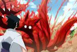 Naruto 3 tails vs sasuke