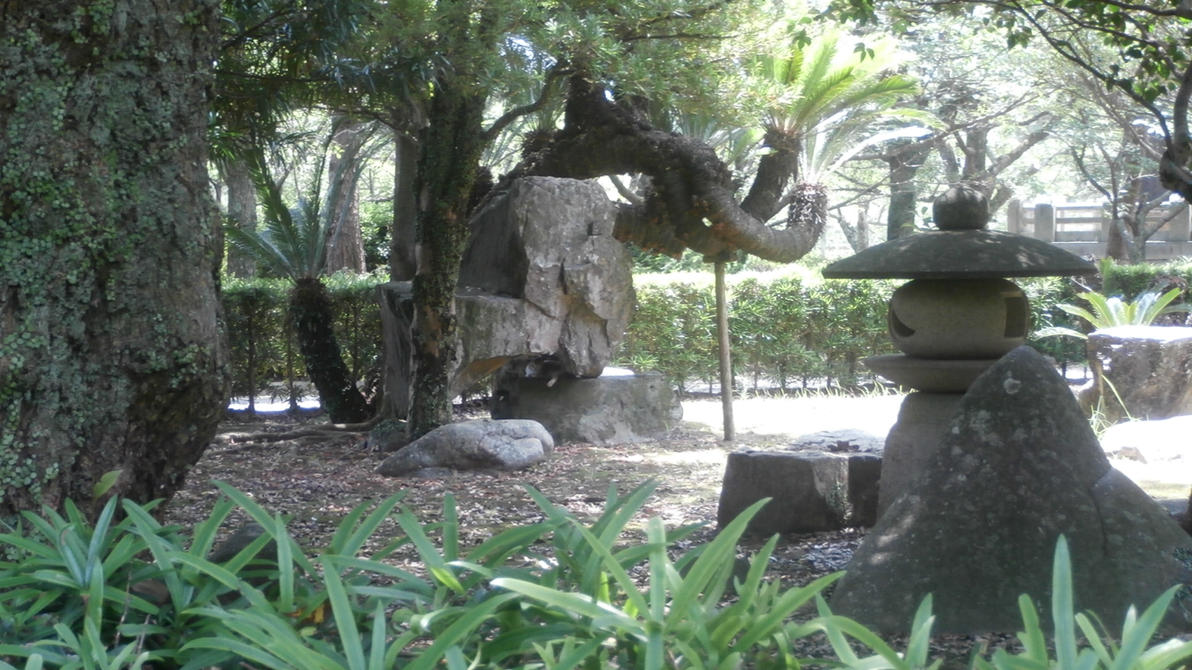 Stone paradise 2 by PerseoeAndromeda