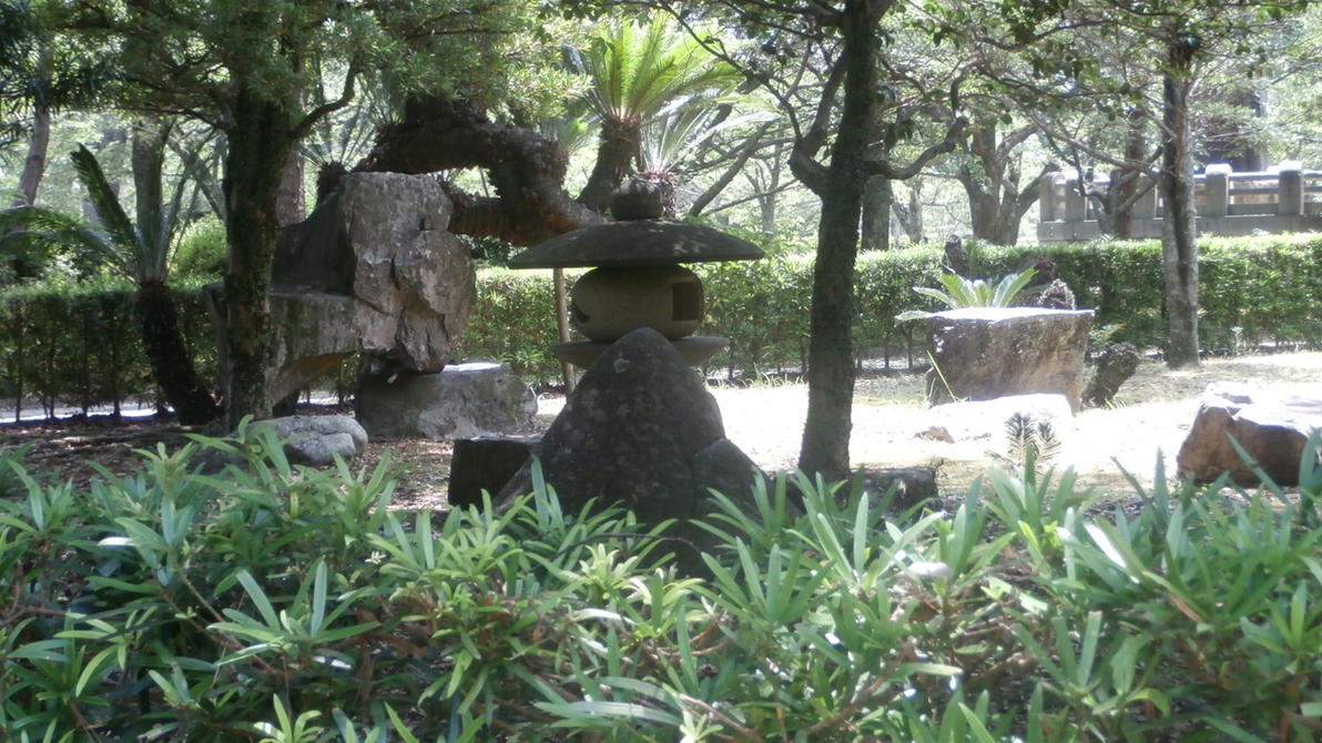 Stone paradise by PerseoeAndromeda
