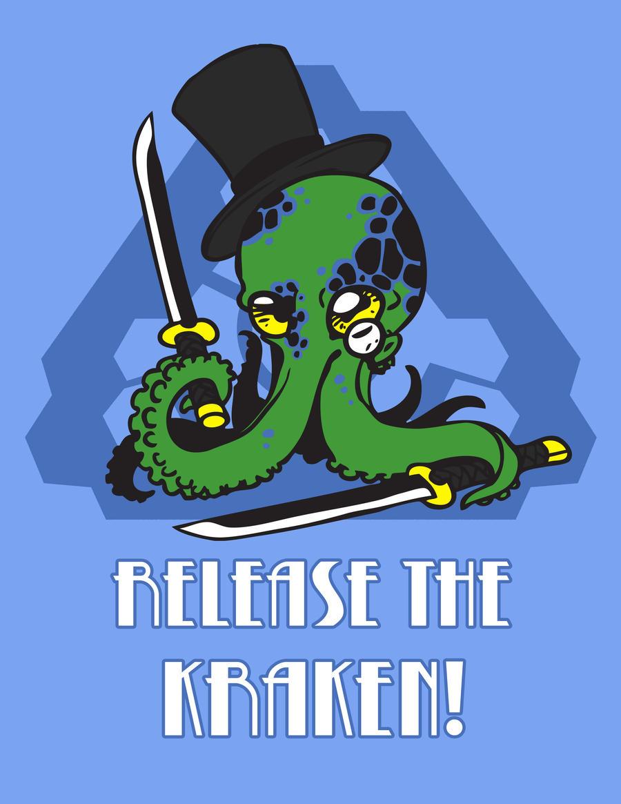 FA - Release the Kraken! Shirt Design