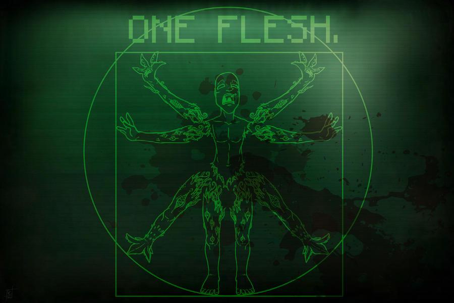 ONE FLESH.