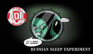 Episode 8 - The Russian Sleep Experiment by Crazon
