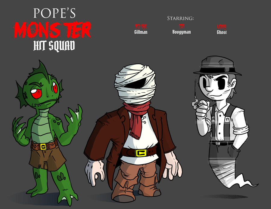 Wushu - Pope's Monster Hit Squad by Crazon