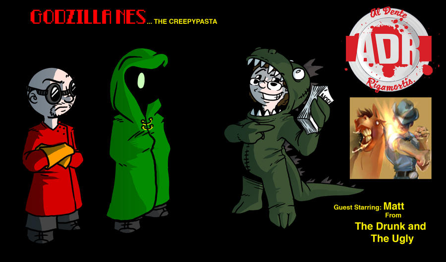 Episode 46 - Godzilla NES Creepypasta by Crazon