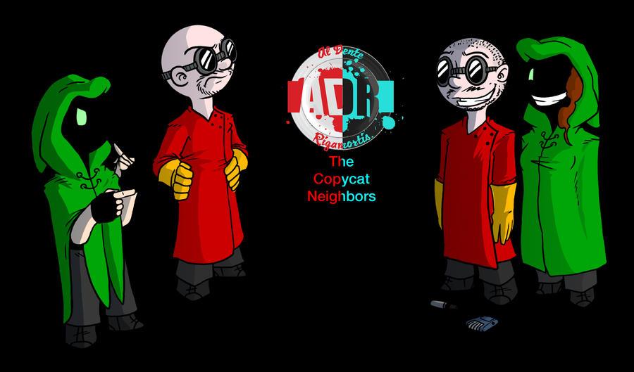 Episode 48 - The Copycat Neighbors by Crazon