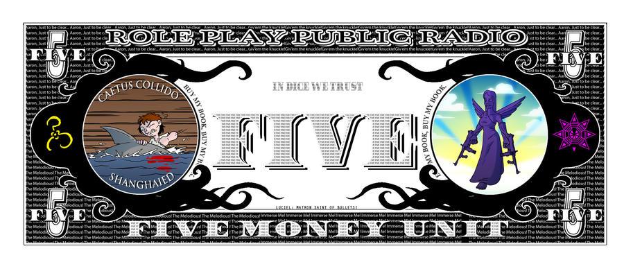 RPPR - Five Money Unit Back by Crazon