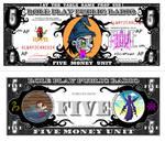 RPPR - Five Money Unit Bill complete