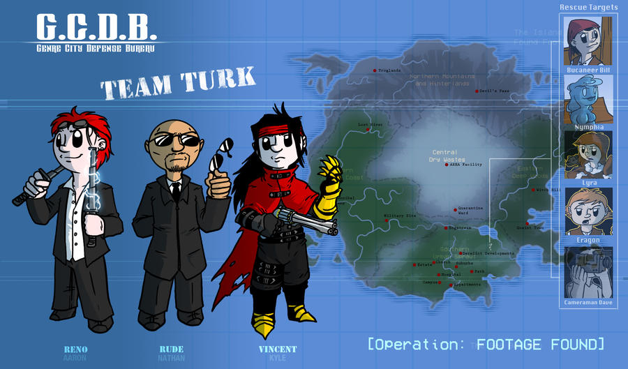 GCDB - Team Turk: Operation FOOTAGE FOUND by Crazon