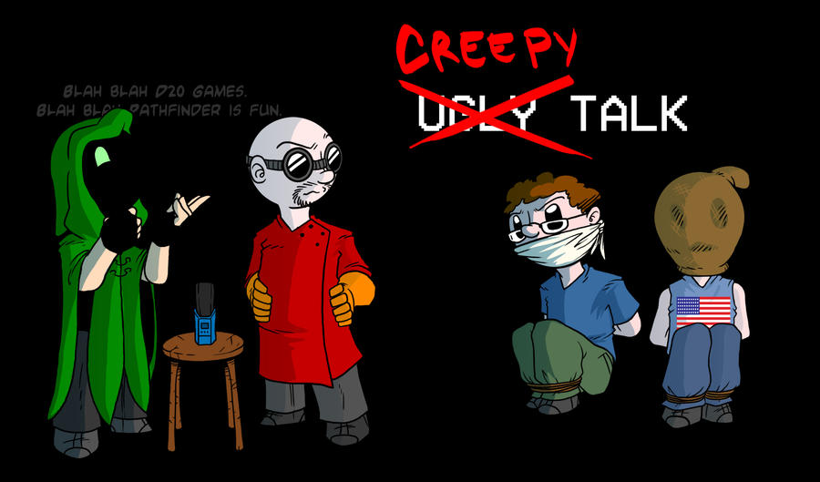 Creepy Talk by Crazon