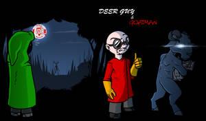 Episode 146 - Deer Guy and Goatman by Crazon