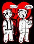 Fanart - Benny + Johnny (Rag-Nerd-Rok)