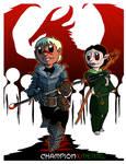 Fanart - Dragon Age 2: ChampionXMerril