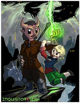 Fanart - Dragon Age Inquisition: InquisitorXSera