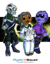 Fanart - Mass Effect Andromeda: RyderXSquad