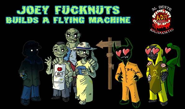 Episode 360 - Joey Fucknuts Builds Flying Machine