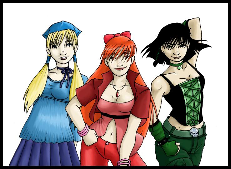 Powerpuff  Teens by whisperelmwood