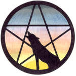 Pentacle Wolf - commission