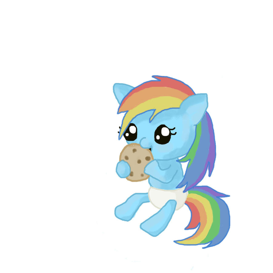 Rainbow Dash As A Baby Rainbow dash baby byPictures Of Baby Rainbowdash
